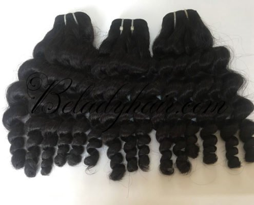 12 inches kinky curly 1b weave hair
