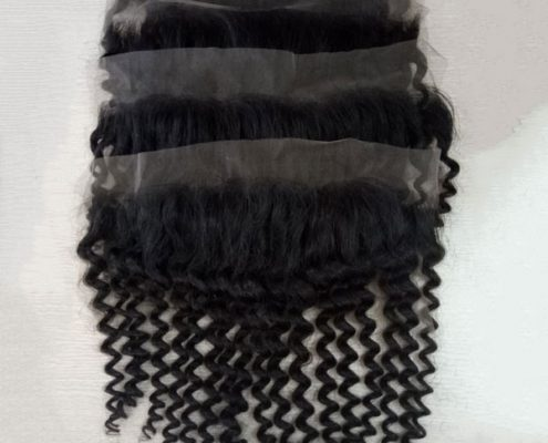 frontal loose curly - 40cm