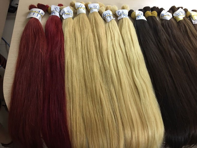 Vietnamese hair color extensions