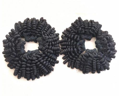 kinky curly weft 30-50 cm