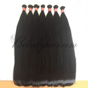 Straight bulk vietnamese hair