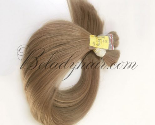 Straight bulk hair 16 cold shade 60cm