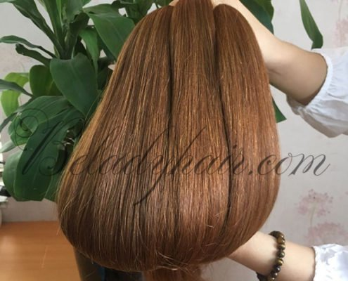 Straight bulk color #10cMany color straight bulk hair