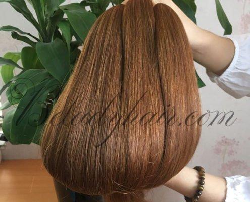 Straight bulk color #10cMany color straight bulk hair