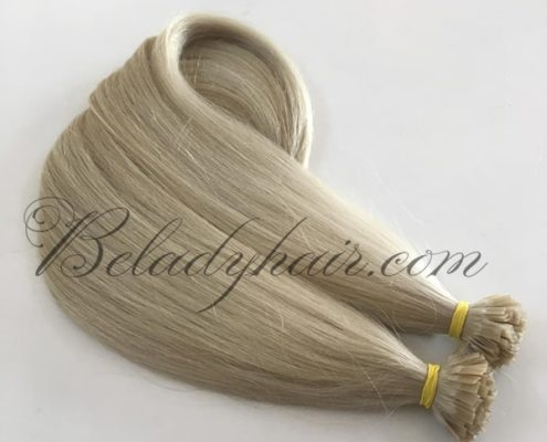Flat tips hair - #24c - 24 inches