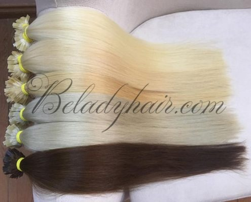 Many color U tips -22 inches