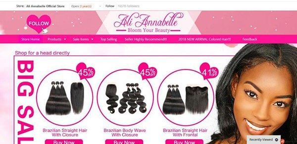 best AliExpress hair vendors
