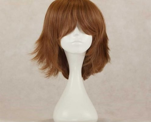 how to make a wig look natural in front.