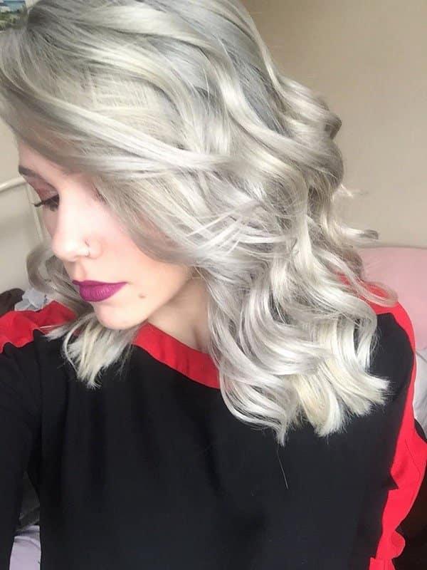 wella toner for white hair
