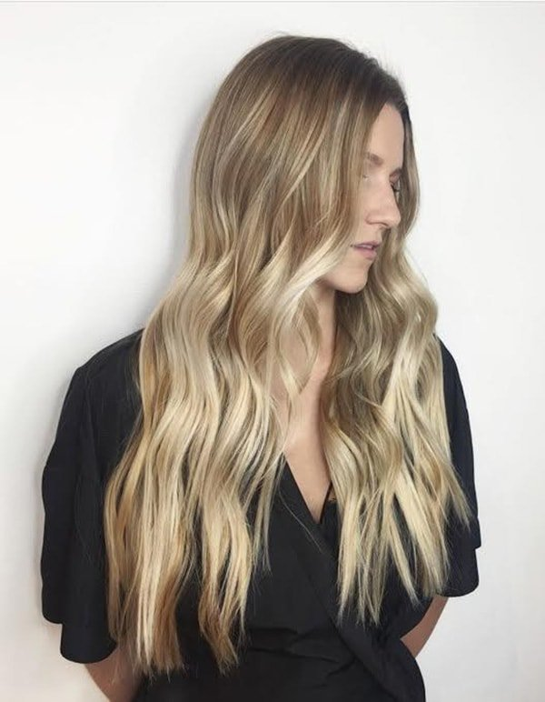 ombre clip in human hair extensions