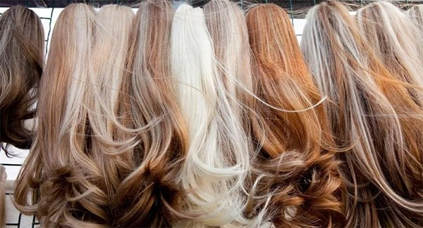 can you bleach synthetic hair wigs