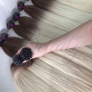 Ombre Flat Tip Hair Extensions