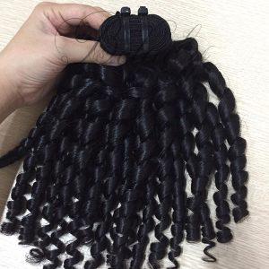 Romantic Curly Weft Hair