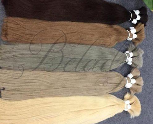Straight Bulk Many Color Hair