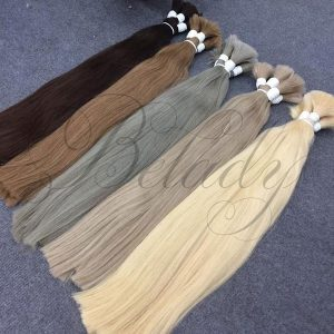 Straight Bulk Many Color Hair