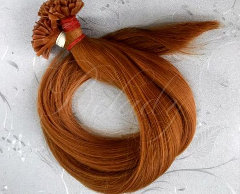 Flat Tip Straight Color Hair #30 Hot Shade