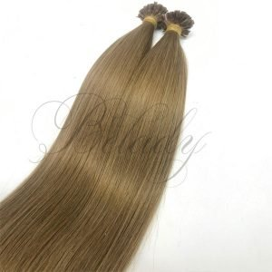 U Tip Straight Color Hair #12