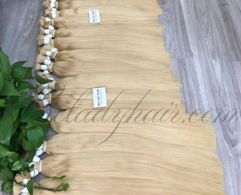22inches, 24inches straight bulk -color black, blonde 60
