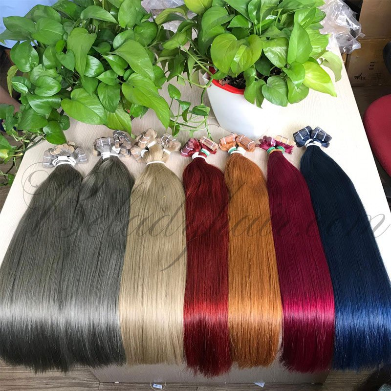 24 inches straight tape- many number color hot shade